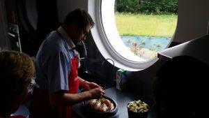 Maison Bonnétable vue cuisine