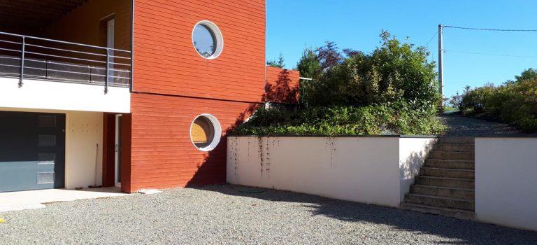 Maison bioclimatique, 500 m² (passive) entre Le Mans et Paris