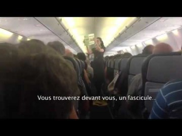 Rigolothérapie : À bord d'un avion de la Kulula Airways - CONSIGNES
